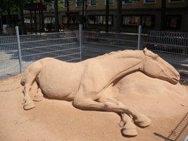 Sculpturensand bei Andrew Baynes im Einsatz